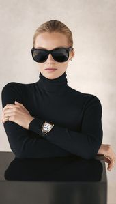 Ralph Lauren Eyewear: The Ricky Frame is een van Ralph Lauren & # 39; s meest iconische e …   – Model