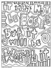 Testing Encouragement – Classroom Doodles