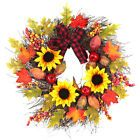 Thanksgiving Fall Garland Window Door Maple Leaf Pendant Wreath Home Decor …