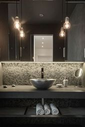 20 Modern Powder Room Design Ideas