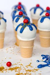 How to Make Ice Cream Cone Cake Pops   – Cupcakes
