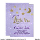Baby Showers Twinkle Twinkle Twinkle Little Star Baby Shower Invitation