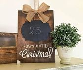 16+ unglaubliche Holzschild Ideen & Designs für Weihnachtsschmuck im Jahr 2019 – #{3F} DIY Home Decor