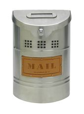 Ecco Stainless Steel Mailbox E1 Small Stainless Steel Mailbox Mounted Mailbox Wall Mount Mailbox