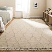 Poner una alfombra de lana al lado de una cama provocará que