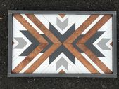 Excited to share this item from my #etsy shop: Wood Mosaic Art / Wood Art / Wood…