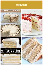 Moist and delicious homemade Cannoli Cake Recipe by MyCakeSchool.com! Flavorful …