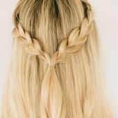 Instructions for 3 quick & easy braided hairstyles 3 simple braided hairstyles …