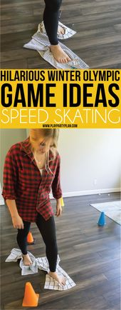 Winter Olympic Themed Party Games