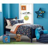 American Kids Woodland Safari Boy Bed in a Bag Bedding Set – Walmart.com