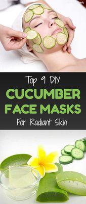Top 9 DIY Cucumber Face Masks For Radiant Skin