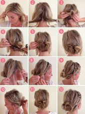 Oktoberfest hairstyles for dirndl – 27 instructions #middle long hair # most popular…