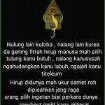 Stutus Bahasa Sunda Tentang Kehidupan Dan Artinya Bahasa