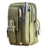 Men's Casual Waist Pack Purse Mobile Phone Case #CQC #Asshowninthepicture