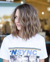 Long cropped bob hair – New Site