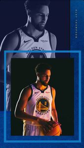 Klay Thompson Hintergrund   – BASKETBALL