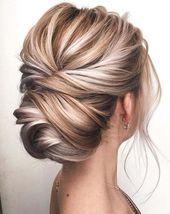 12 coiffures de mariage les plus élégantes et belles