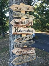 How to Make Scary Halloween Decorations on a Budget – Pallet Ideas