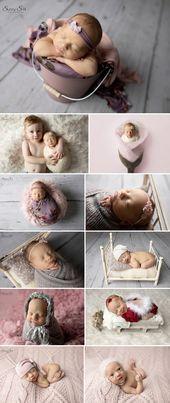 Die 6 Tage alte Mila und ihr pink inspiriertes Studio-Fotoshooting mit Sunny S-H …   – Bebek fotoğrafçılığı