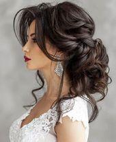 46 Coiffure de mariage élégante et chic, vous devez essayer #chic #coiffure #   – Wunderschöne Outfits