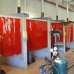 Paint And Spray Booth Curtains