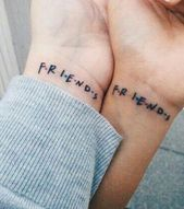 Freunde tat #tattooinspiration #tattooideas #inkedup #tattooink #tattoodesign
