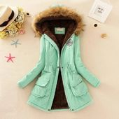 2018 Top Brand New Parkas Female Women Winter Coat Thin Cotton Jacket Outwear Fashion Long Coat Oversize Best Price Forever