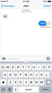 Wenn Sie auf Ihrem iPhone, iPad oder iPod touch keine Nachrichten senden oder empfangen können