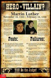 Martin Luther: Hero or Villain? Mini-Poster