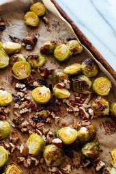 Balsamic Roasted Brussels Sprouts Recipe – Cookie and Kate   – Veggies
