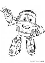 Robot Trains Coloring Pages On Coloring Book Info Train Coloring Pages Cartoon Coloring Pages Dinosaur Coloring Pages