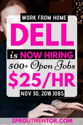 Legitimate Work From Home Jobs Hiring Now (Dell & …