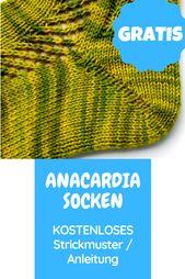 Kostenloses Strickmuster für Socken: Summer Sneak…