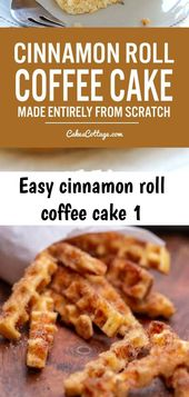 Easy cinnamon roll coffee cake 1 – Recipes