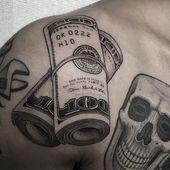 101 Best Money Tattoos For Men: Cool Designs + Ideas (2019 Guide)