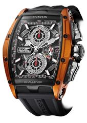 Cvstos Challenge GT Dani Pedrosa Collection Men's Watch, Titanium with Orange Laterals
