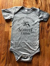 The Office Shirts - Dwight Schrute -  Schrute Farms - Kids Clothes - Baby Clothes - Baby Boy Clothes - Adult Clothes - Baby Girl Clothes