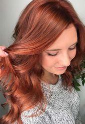 55 Auburn Hair Color Shades to Burn for: Auburn Hair Dye Tips