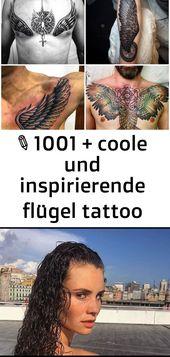 ▷ 1001 + coole und inspirierende flügel tattoo designs und ihre beudetungen 47