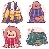 ✨💚💙💛❤️Meine kleine Hogwarts-Haustierserie alle zusammen! ❤ ¸ ….