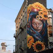 🎨Mural by Mata Ruda Create your own version of this mural … – Aim …   – Streetart
