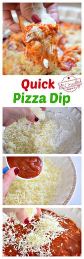 Classic Quick and Easy Hot Pizza Dip Recipe With Cream Cheese