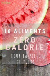 16 Aliments Zéro Calorie Pour La Perte De Poids