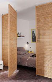 Raumteiler: 60 Modelle von Dekoration und Materialien – Neu dekoration stile
