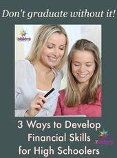 three Methods to Develop Monetary Abilities for Homeschool Excessive Schoolers 7SistersHomesch…