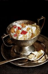 Butterscotch Pudding mit Snickerdoodle Cookie Crumbs & Bacon Whipped Cream – …