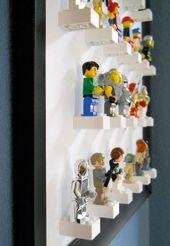 Make Your Own: Lego figure display – Kinderzimmer