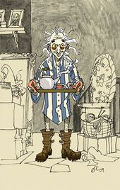 Xenophilius Lovegood Harry Potter Illustrations Harry Potter Characters Harry Potter