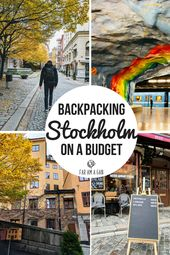 Backpacking Stockholm On A Finances – A 24 Hour Itinerary