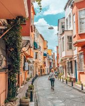 """Mihaela • Travel Photography on Instagram: """"Exploring the colorful streets of Balat, Istanbul"""